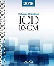 ICD-10-CM Complete Official Code Book  - by American Medical Association