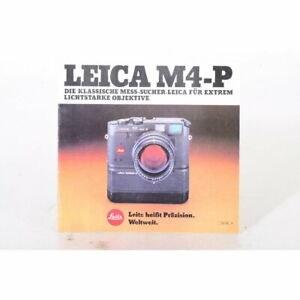 Leitz / Leica M4-P - Prospekt - Die klassische Mess-Sucher-Leica für extrem ...