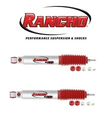 Rancho Pair of Front Twin-Tube Shock Absorbers w/ 0? Lift for Hummer H2 03-09