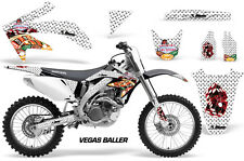 Honda Graphic Kit AMR Racing Bike Decal CRF 450R Decal MX Parts 05-08 VEGAS BLLR