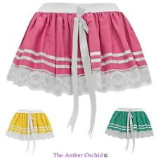 Cotton Party Patternless Short/Mini Skirts for Women