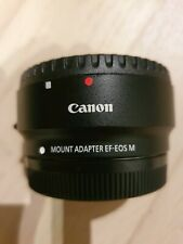 Genuine Canon EF-EOS M Mount Adapter (without Tripod Mount) Condition Used