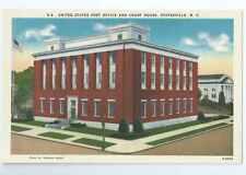 Statesville, North Carolina, Post Office & Court House, Linen, Unposted-Postcard
