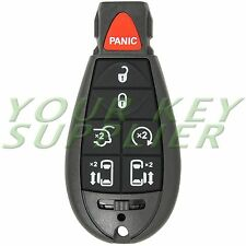 New Uncut Replacement Fobik Smart Key Fob Keyless Remote for Chrysler Dodge