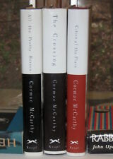 CORMAC MCCARTHY BORDER TRILOGY FIRST EDITIONS ALL THE PRETTY HORSES CROSSING &c.