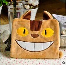 My Neighbor Totoro Cat bus Notebook Soft Cover Cute Plush diary Journal Kawaii