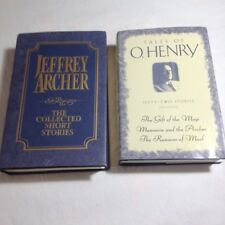 Jeffrey Archer Short Stories and O.Henry Short Stories Hardcovers !!