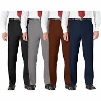 Mens Trousers Cotton BHS Brand Work Formal Active Stretch Waist Pockets 32-46