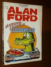 ALAN FORD NUMERO 61 Prima Serie Ed. CORNO ANNI 70 NO RESA NE RIFILATO - OTTIMO !