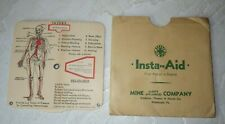 Vintage 1932 Mine Safety Appliances Co Card Spinner Insta First Aid B F McDonald