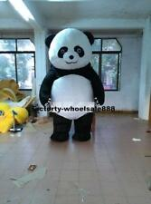Inflatable Chinese Panda Bear Mascot Costume Suit Adult Parade Dress Outfit Gift