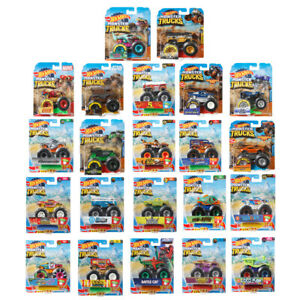 Hot Wheels Monster Trucks 1:64 Collection - FYJ44 - CHOICE OF VEHICLE