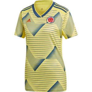 adidas FCF Colombian Football/ Soccer WOMEN'S Home SS Jersey DN6617 MSRP $90
