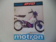 advertising Pubblicità 1992 MOTRON GTO 50