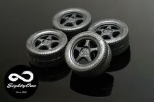 "Factory81 RM002 1/24 15"" Spoon Sport set (4 Wheels with Tyres)"