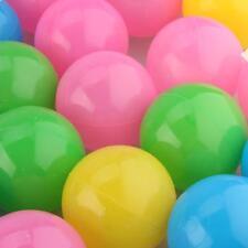 50 x 5.5cm Balles Boules Plastique PE Multicolore Jeu Piscine Tente Enfants Bébé
