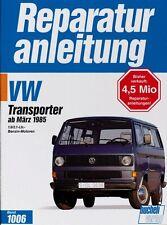 VW Transporter Bus ab 1985 Reparaturanleitung Reparatur-Handbuch Reparaturbuch