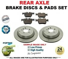 Rear Axle BRAKE DISCS + BRAKE PADS SET for VW GOLF VII 2.0 GTD 2013->on