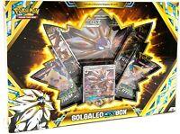 Official Pokemon Center TCG: Solgaleo-GX Box (Sun & Moon Booster Packs)