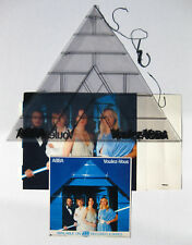 ABBA Voulez-Vous 1979 US PROMO ONLY In-Store Hanging DISPLAY Benny FRIDA Bjorn
