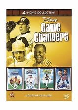 Disney Game Changers 4-Movie Collection (Angels in the Outfield... Free Shipping
