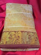 Bridal Kanchipuram Indian Silk Saree Bollywood Diwali Party Bridal Wear Sari #7