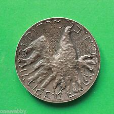 1969 Israel El Al Silver State Medal 45mm 47grams SNo39163