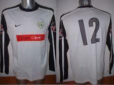 Leigh Genesis Nike L Shirt Jersey Football Soccer Matchworn Player Issue Unibond