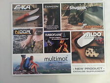 ProForce Equipment 2014 Booklet Catalog NEW / Water Filtration, Campware, Knives
