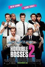 Horrible Bosses 2 - original DS movie poster - 27x40 D/S Final