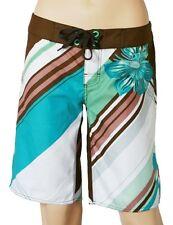O'Neill Stripe Flower Ladies Boardshorts Shorts: BNWT from BeachBeau surf store