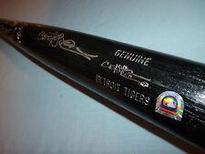 "Carlos Pena Autographed Louisville Slugger Bat MLB COA Detroit Tigers Black 34"""