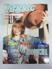 Rivista MUSIC 135/1991 Joni Mitchell Queen Happy Mondays Dream Academy  NO cd