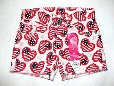 Girls Sonoma Patriotic Denim Shorts - Size 6 - NWT