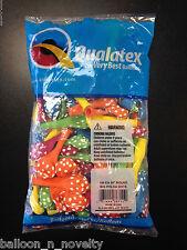 "Qualatex 5"" Polka Dot Assorted Balloons ~ 100 ct."
