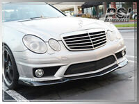 Carbon Fiber CS2 Style Front add-on Lip for 2006-2009 M-Benz W211 E63 AMG ONLY