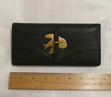 Marc By Marc Jacobs Long Wallet Petal to the Metal Navy NEW $178 retail