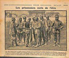 Prisoners Feldgrauen Soldiers Austria Army in Italia Italy Italie WWI 1915