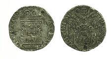pci3327) ANCONA - Gregorio XIII (1572-1585) - Testone 1575 - CARENZE