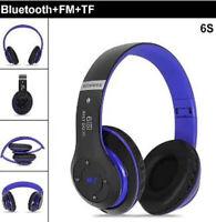 Bluetooth 5.0 Headphones Wireless HD Stereo Earphones Noise Canceling Headset FM