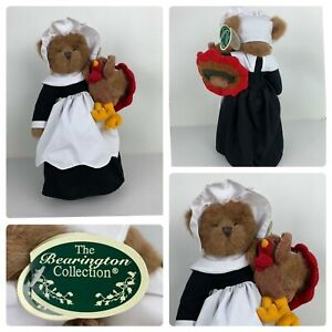 Bearington Collection Gabby & Gobbles Thanksgiving Bear Turkey w/ Stand Limited