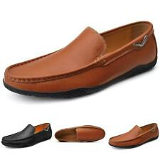 Mens Business Leisure Shoes Pumps Slip on Loafers Soft Comfy Breathable Casual L