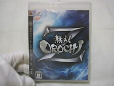7-14 Days to USA Airmail. USED SONY PS3 Musou Orochi Z. Japanese Version.