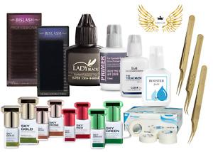 Lady Black Glue Eyelash Extensions 5ml/10ml Adhesive Glue Remover 15ml Primer