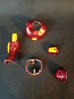 Iron Man Hologram Armor Power Missile Launcher Action Figure Toy Biz Parts Rare
