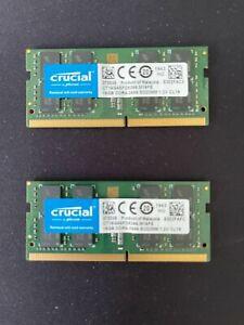 Crucial 32GB-2x16GB DDR4 Memory Ram Upgrade Apple Mac Mini-8.1 Late 2018