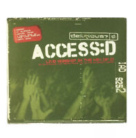 Access: D by Delirious CD 2 Discs Furious Records Christian Music
