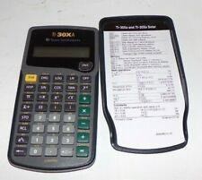 Texas Instruments TI-30XA Scientific Calculator Works