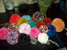 LARGE POM POMS (65-68mm) ASSORTED COLOURS  YOUR CHOICE