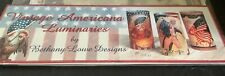Bethany Lowe Americana Luminaries Three Packs 18 Total
